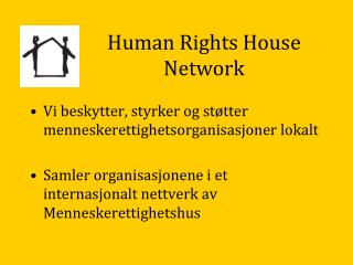 Human Rights House Network