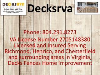 Decksrva- best decks and porche provider