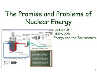 The Promise and Problems of Nuclear Energy
