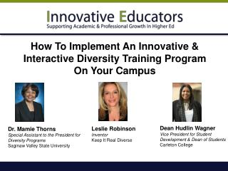 How To Implement An Innovative & Interactive Diversity Training Program On Your Campus