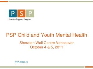 PSP Child and Youth Mental Health