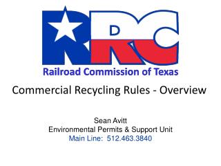 Commercial Recycling Rules - Overview