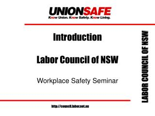 Introduction Labor Council of NSW