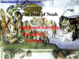 The Boat of Noah