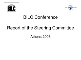 BILC Conference Report of the Steering Committee