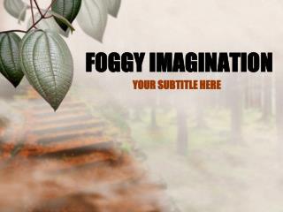 FOGGY IMAGINATION