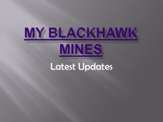 MY BLACKHAWK MINES - Fraud | fraud   investigators London, U