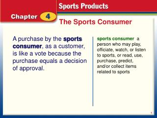 The Sports Consumer