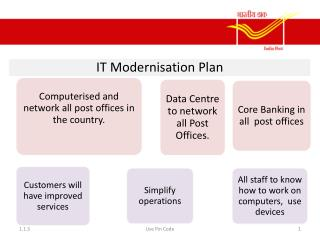 New Developments IT  annd Modernisation  Plan