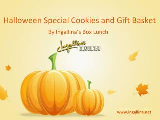 Ingallina's Box Lunch Halloween Special Cookies & Gift Baske