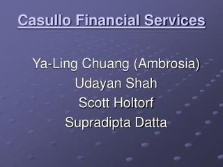 Casullo Financial Services