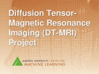 Diffusion Tensor-Magnetic Resonance Imaging (DT-MRI) Project
