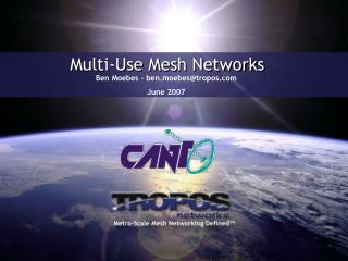 Multi-Use Mesh Networks