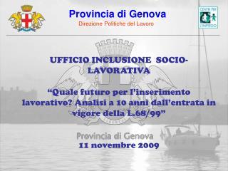 UFFICIO INCLUSIONE  SOCIO-LAVORATIVA