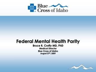 Overview Federal Mental health Parity Act