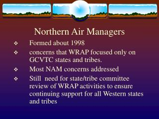 Northern Air Managers