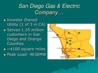 San Diego Gas & Electric Company…