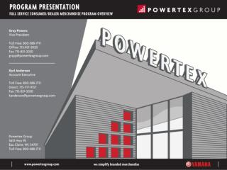 ABOUT POWERTEX GROUP