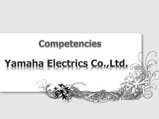 Yamaha Electrics  Co.,Ltd .