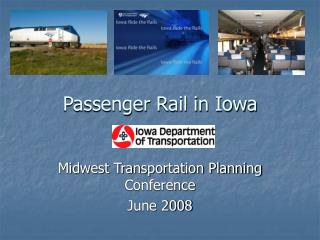 Passenger Rail in Iowa