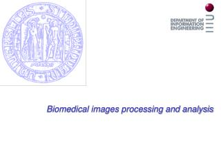 Biomedical images processing and analysis