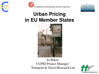 Urban Pricing  in EU Member States