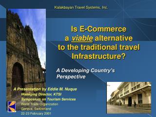 Kalakbayan Travel Systems, Inc.