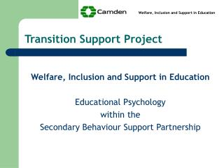 Transition Support Project