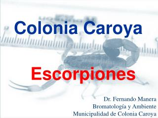 Escorpiones