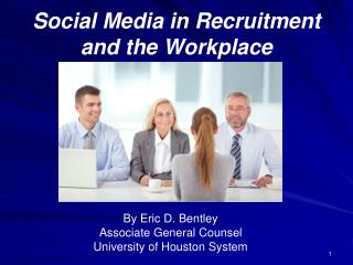 Social Media in Recruitment and the Workplace
