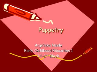 Puppetry