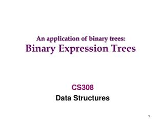 CS308 Data Structures