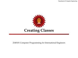Creating Classes