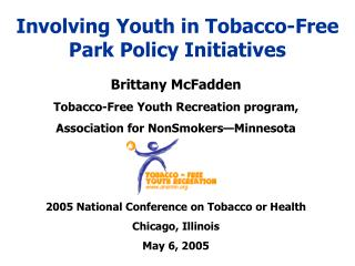 Involving Youth in Tobacco-Free Park Policy Initiatives