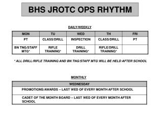 jrotc dating rules