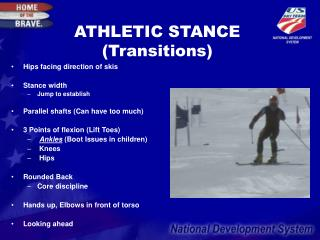 ATHLETIC STANCE (Transitions)