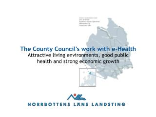 The County Council's work with e-Health