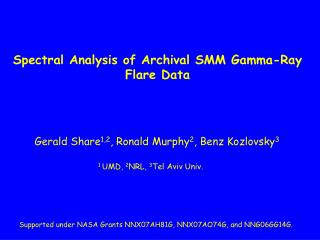 Spectral Analysis of Archival SMM Gamma-Ray Flare Data