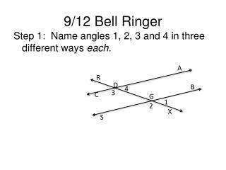 9/12 Bell Ringer