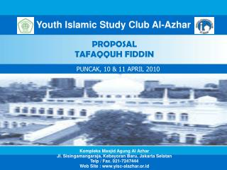 Youth Islamic Study Club Al-Azhar