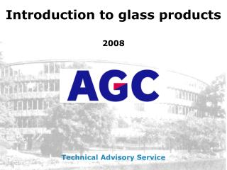 Introduction to glass products 2008