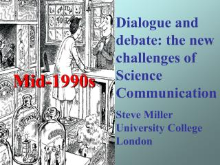 Dialogue and debate: the new challenges of Science Communication