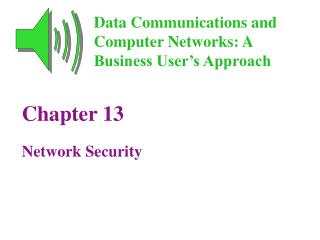 Chapter 13 Network Security