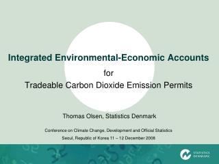 Integrated Environmental-Economic Accounts