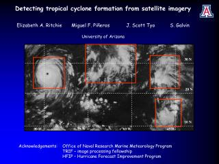 Detecting tropical cyclone formation from satellite imagery