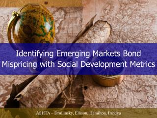 Identifying Emerging Markets Bond Mispricing with Social Development Metrics