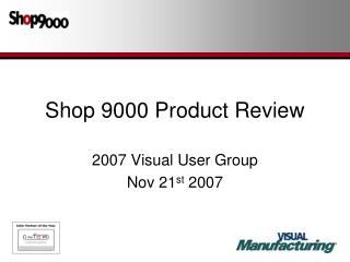 Shop 9000 Product Review