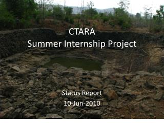 CTARA Summer Internship Project