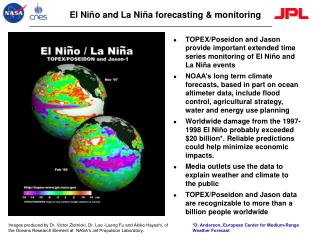 El Niño and La Niña forecasting & monitoring