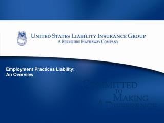 Employment Practices Liability: An Overview